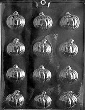 T017 Small Pumpkin Chocolate Candy Mold w/instructions