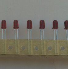 Hewlett Packard Hlmp 3000 Red Leds T1 34 100 Pcs