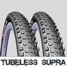 Pair of 27.5 x 2.2 Mitas Tubeless Ready Mountain Bike Tyres MTB