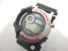 Auth CASIO G-SHOCK FROGMAN DW-8200 DarkGray 5D0450 Men's Wrist Watch