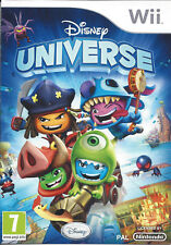 DISNEY UNIVERSE for Nintendo Wii - with box & manual - PAL
