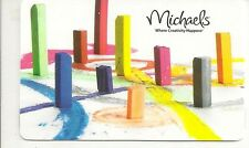Michaels Crafts Pastel Crayons Pretty Colorful 2012 Gift Card Collectible