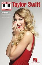 Taylor Swift Sheet Music Piano Chord SongBook NEW 000312094
