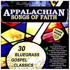 """APPALACHIAN SONGS OF FAITH, CD """"30 BLUEGRASS GOSPEL CLASSICS"""" NEW SEALED"""