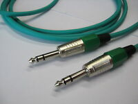 Chinch Cable Stereo Green 6,3 Mm Long 15 Meters