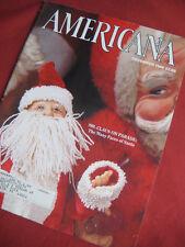 Americana Magazine December 1988:  Kennedy Assassination, San Antonio missions