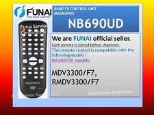 NEW REMOTE CONTROL UNIT MAGNAVOX NB690UD MDV3300/F7 MDV3100/F7 MDV3110/F7