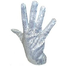 Mens 80s 80's 1980s King of Pop Glove Michael Jackson Sequin Glove New