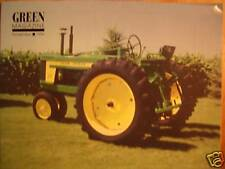 JOHN DEERE Model 520 tractor GREEN magazine
