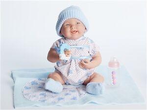 "La Newborn 15.5"" Gift Set - Blue - Soft Body Doll"