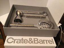 Crate & Barrel Savoy Bar Set NIB