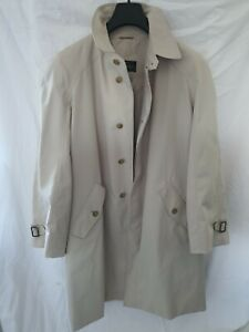 Herno Mantel Trench Gr. M / 50 beige Top NP 890