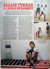 ALLAIN TURBAN: COUPURE DE PRESSE 1 page 1984