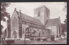 Wales Postcard - St Asaph Cathedral From South West   RS2652