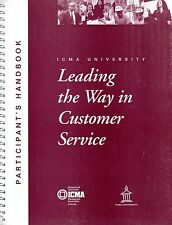 Leading the Way in Customer Service Participant's Handbook