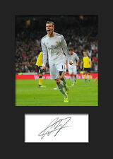 GARETH BALE #1 Signed Photo Print A5 Mounted Photo Print - FREE DELIVERY