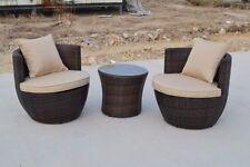 Unbranded Aluminium 3 Pieces Garden & Patio Furniture Sets