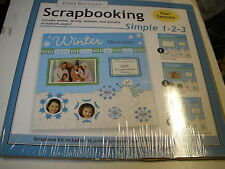 Paper Boutique: Scrapbooking Simple 1-2-3 Four Seasons, 12x12 New