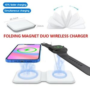 Mag Safe Duo Charger For iPhone12 Pro/Pro Max/iwatch/Magnetic Wireless charger