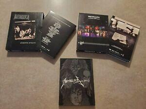 Metallica - Cunning Stunts, Cliff, S&M DVD, Patches & Bandana Bundle