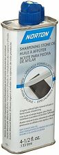 Norton Sharpening Stone Oilstone Whetstones Hone Chisels Knives lubrication Oil