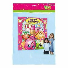 shopkins WALL BANNER DECORATING KIT (5pc) ~ Happy Birthday Party Supplies