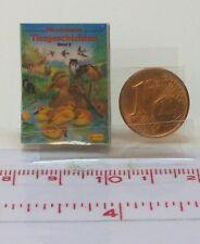 1131# Miniaturbuch -Tiergeschichten Band 3  - Puppenhaus - Puppenstube - M 1zu12