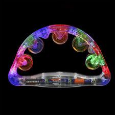 The Glowhouse Light Up Flashing LED Tambourine Shaking Sensory Toy CE UKCA