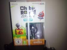CHIBI ROBO! ZIP LASH +AMIIBO CHIBI-ROBO 3DS NUEVO PRECINTADO NINTENDO