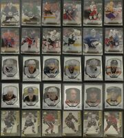 2015-16 Upper Deck Canvas Portraits Stars Hockey Cards Complete Your Set U Pick
