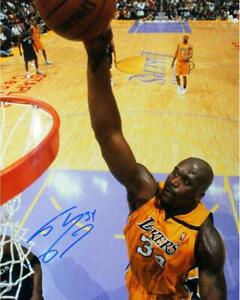 Shaquille O'Neal Lakers Jersey Signed 16x20 Photo Steiner Sports Certified