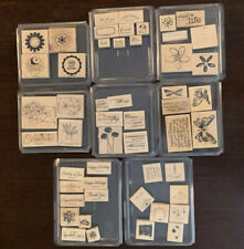 Stampin Up LOT Stamp Sets * Paper * Ink Pads * Rub Ons * PLUS