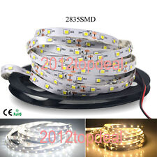 New 16Ft 5M White/Warm White 120LED/M SMD 2835 600LEDs Strip DC12V Super Bright