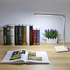 8W LED Desk Lamp Touch Sensitive Folding Dimmable Table Light Office Study