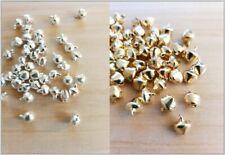 Glöckchen Anhänger * Schellen Schmuckherstellung Basteln Deko Charms Gold Silber