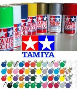 Tamiya 100ml Polycarbonate Lexan PS for RC Car Model Spray Paint PS-1 to PS-30