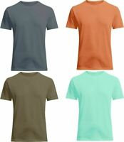 Plain Cotton T-Shirt Short Sleeve Solid Blank Design Tee Men Tshirt S-XL UNISEX