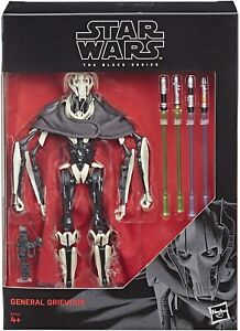 General Grievous Deluxe Star Wars Black Series 18 cm Figur Hasbro