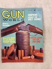 Vintage Gun World Magazine July 1966 Dayl's 28-gauge New Single Trap Gun