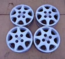 (4) 90 91 92 93 94 Genuine Nissan 240SX 240 SX OEM 15x6 Wheel Rims Set Of 4