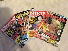 Master Detective Magazines
