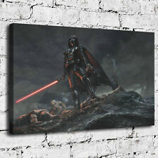 07-Darth Vader Star Wars Painting HD Print on Canvas Home Decor Wall Art Picture