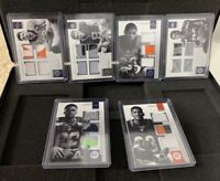 2016 panini encased football rare RC 6 card lot #/10 boyd, booker, Lynch, + WOAH