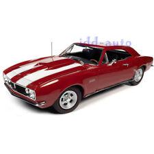 AUTOWORLD 1967 CHEVROLET CAMARO Z/28 NICKEY RED MCACN 1/18 DIECAST MODEL AMM1228