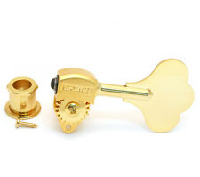 (4) Hipshot USA Gold Ultralite 3/8 Clover Key Bass Machines/Tuners 20670G