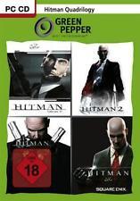Hitman quadrilogy Blood Money + contracts + Silent Assassin + parte 2 como nuevo