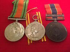 Fire Brigade service medals WW2 Ronald A Wilkins Hemel Hempstead Tring