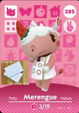 Merengue NFC Amiibo Card Animal Crossing New Horizons! Free Fast Shipping!