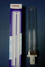Osaga UVC Ersatzlampe  Ersatzröhre 13 Watt  G23 passt z.B Oase Izumi Sera