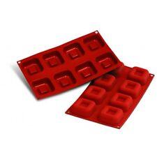 Moule silicone 8 savarins carrés